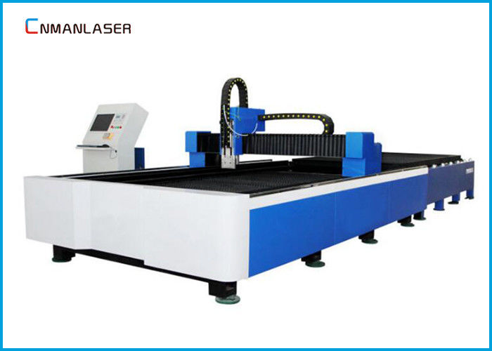 1000w CNC Desktop Fiber Laser Cutter Machine For Metal Cypcut Software