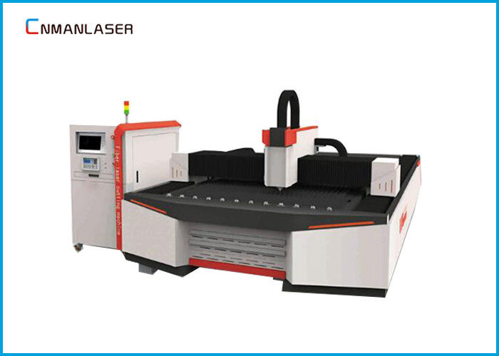 Raycus IPG Water Chiller CNC Fiber Laser Cutting Machine For Carbon Metal Sheet