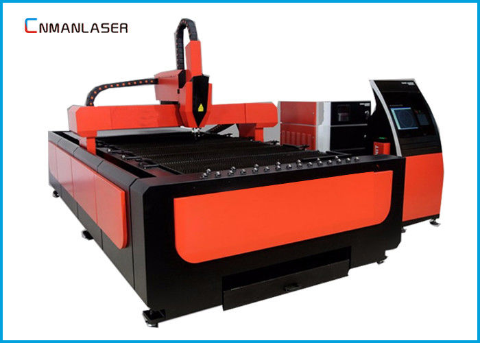 3015 Carbon Steel  Metal CNC Fiber Laser Cutting Machine With IPG RAYCUS Laser