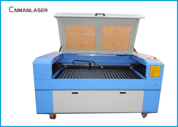 1610 100W Double Head MDF Plywood Fabric Laser Cutting Machine With Auto Focus System