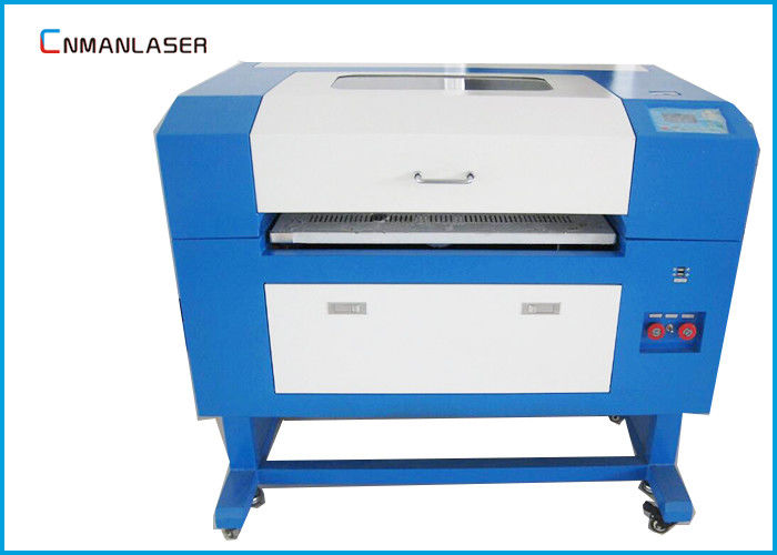 Small Size 6040 60w Stamp Rubber Mini Laser Engraving Cutting Machine Price