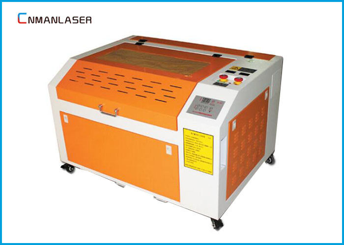 6040 Mini Portable Wood Acrylic Rubber Stamp CO2 60W Laser Cutting And Engraving Equipment