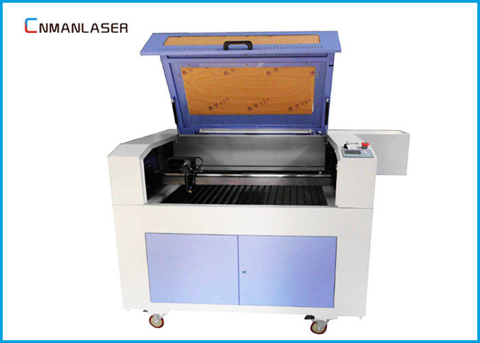 Mini 50W 60W 80W 6040 Laser Cutting Machine For Crystal Gifts Greeting Card