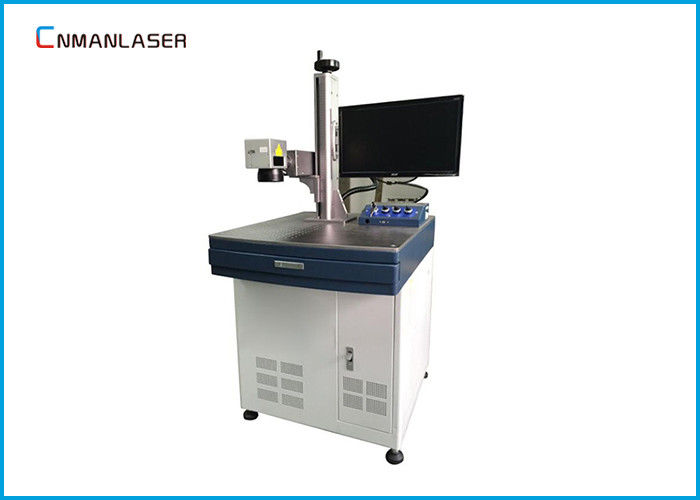 110*110mm 10w 20w Co2 Laser Marking Machine For PVC Pipe Plastic Fabric Surface Marking