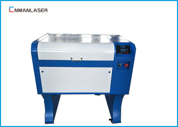 50W Co2 Laser Engraving Cutting Machine Water Cooling With 1000dpi Resolution