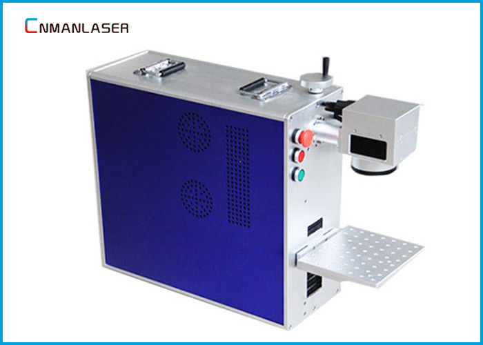 1064nm Small Fiber Laser Marking Machine Air Cooling Max 20W Glasses Frame