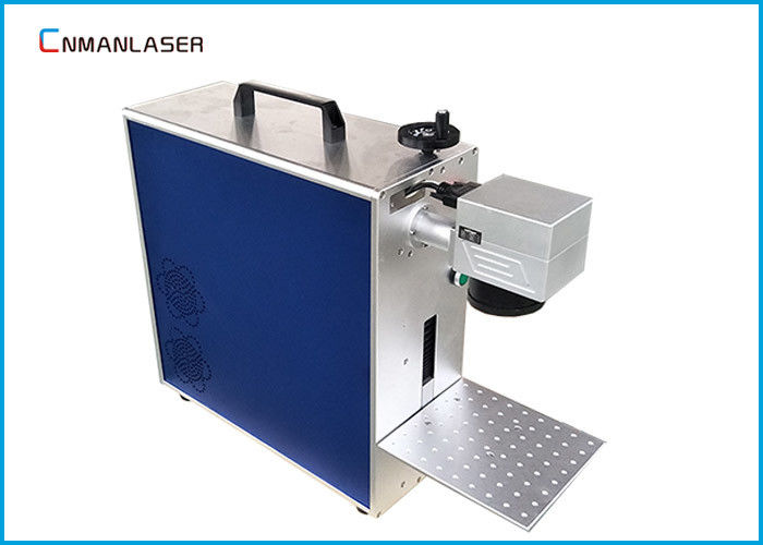 Small Size 30w Red Light Laser Marking Machine For Metal Label Nameplate