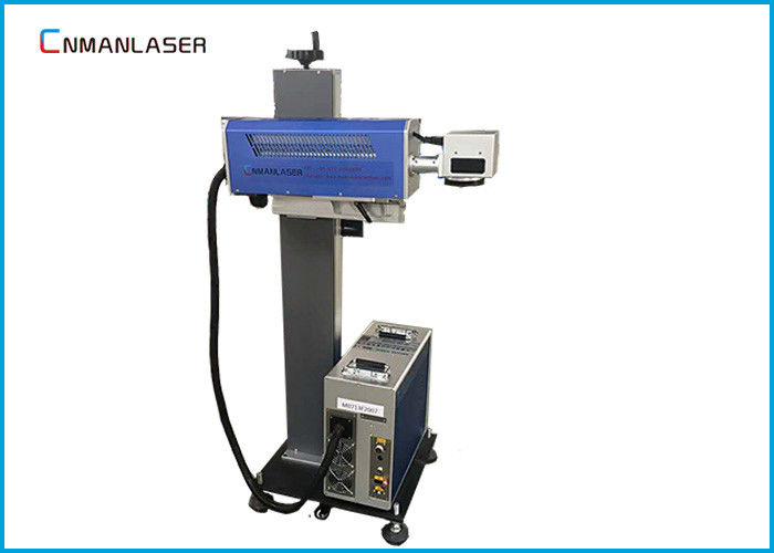 300*300 Mm Galvo Co2 Laser Marking Machine , Small Laser Marker For Furniture And Glass