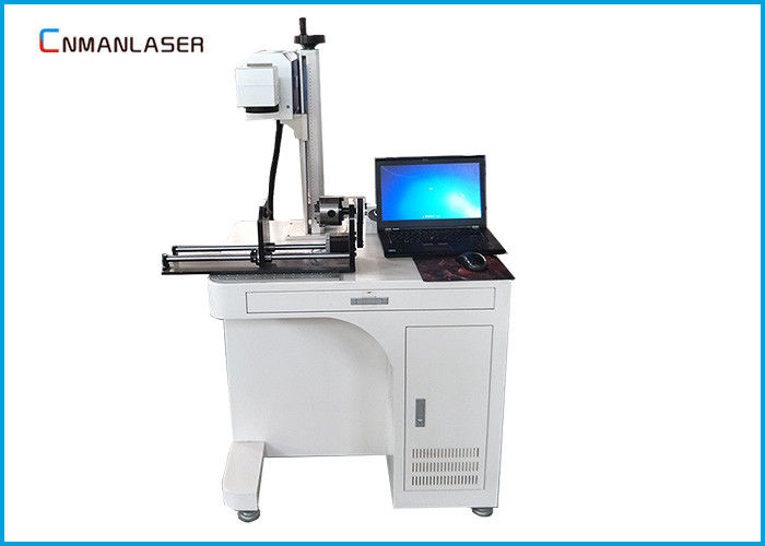 Tabletop Dynamic Automatic CO2 Laser Marking Printing Machine With Rotary Devices