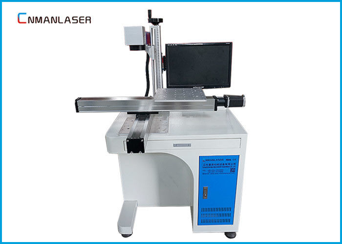 Desktop Metal Laser Marking Machine Moving Working Table Raycus Sources